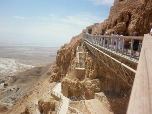 At top of Masada 2